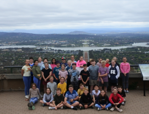 Year 7 Canberra camp